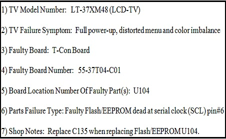 jvcviziosamsung v1 | LED LCD TV Repair